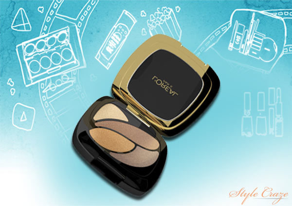 L'Oreal Color Riche Ombre Eyeshadow Quad – Beige Trench