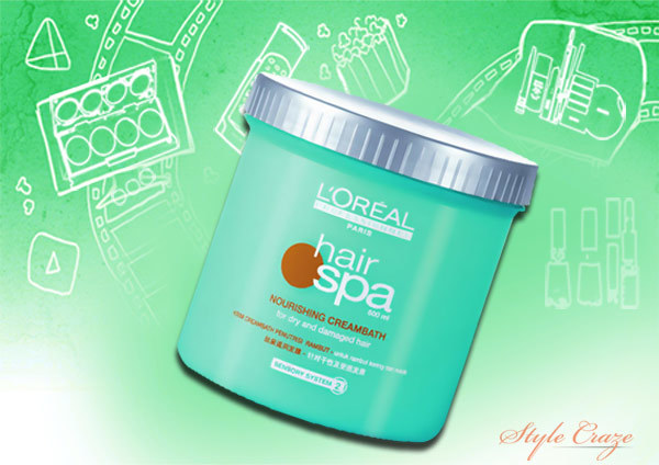 L'Oreal Hair Spa Nourishing Creambath