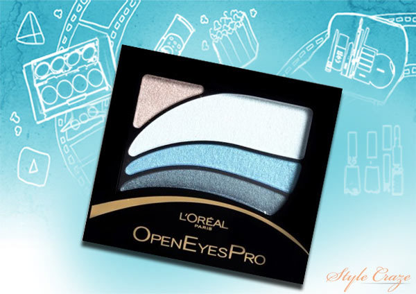 L'Oreal Open Eyes Pro-Turquoise