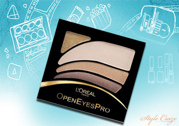 L'Oreal Paris Open Eyes Pro Eyeshadow in Beige Harmony