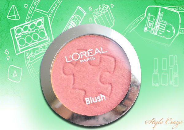 L'Oreal True Match Blush-True Rose
