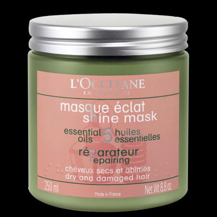 L'occitane Repairing Shine Hair Mask for Dry & Damaged Hair