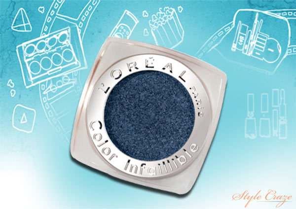 L'oreal Infalliable Eyeshadow All Night Blue