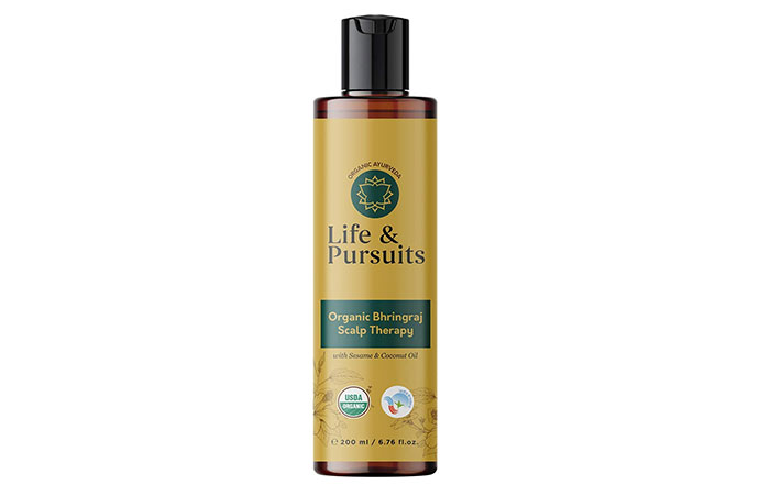 Life Pursuits Organic Bhringraj Scalp Therapy