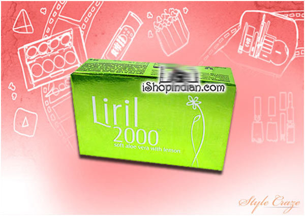 Liril 2000 Soft Aloe Vera Soap