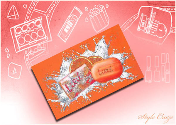 Liril Orange Splash