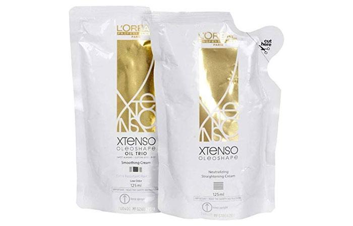 Loreal Paris Xtenso Oil Trio Extra Resistant Hair Straightening Cream