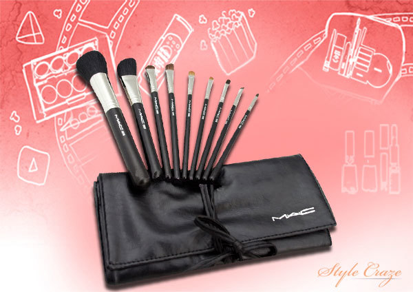 7. MAC Makeup Brush Set - Best Makeup Brush Kit in India