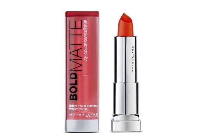 Лучшие Помады Maybelline-Maybelline Color Сенсационная Смелая Матовая Помада-Mat3