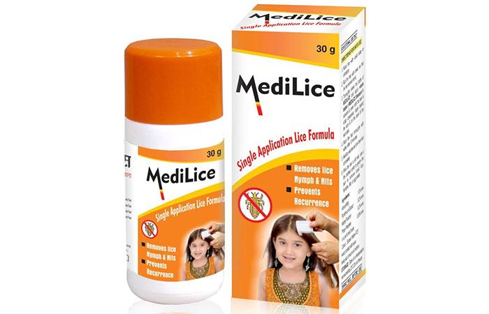 Medilice Single Application Lice Formula