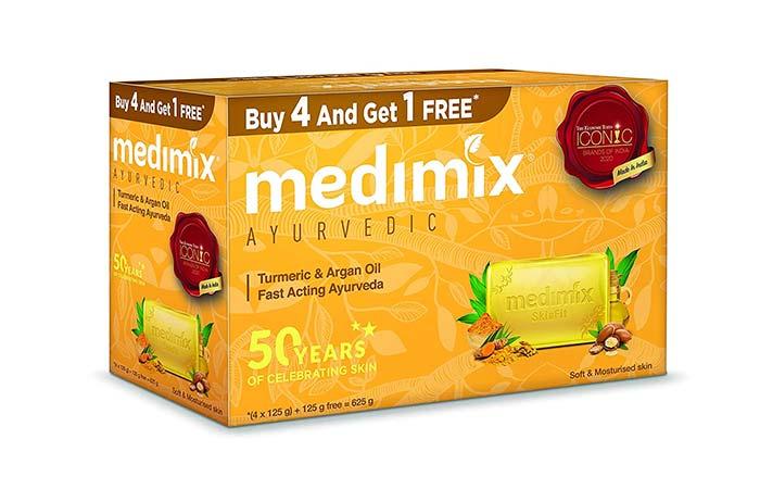 Medimix Ayurvedic Turmeric Argan Oil Soap