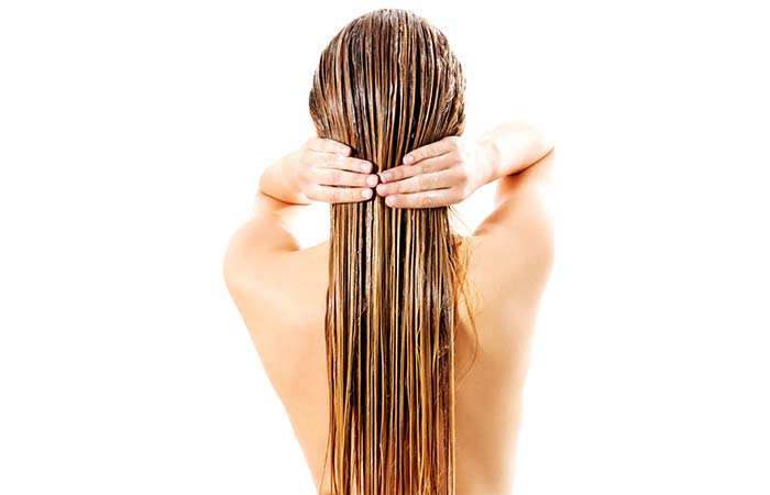 Oil your hair and use a conditioner every time you wash it to restore the moisture into it.