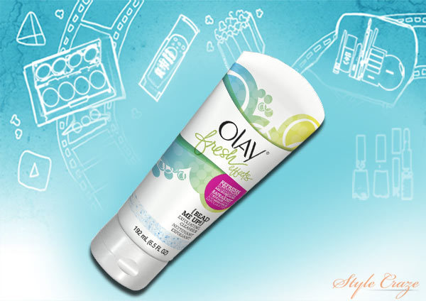 Olay Fresh Effect Beads Me Up Exfoliating Cleanser