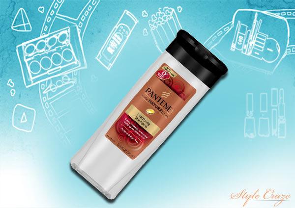 Pantene Truly Natural Clarifying Shampoo