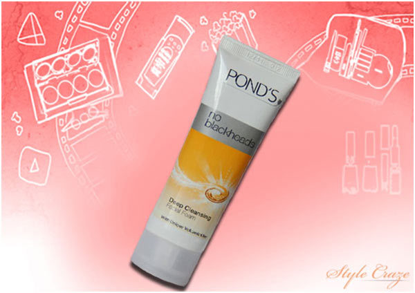 Pond's No Blackheads Deep Cleansing Facial Foam
