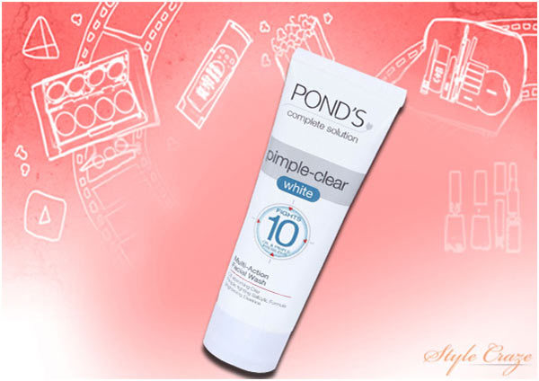 Pond's Pimple Clear White Multi-Action Face Wash