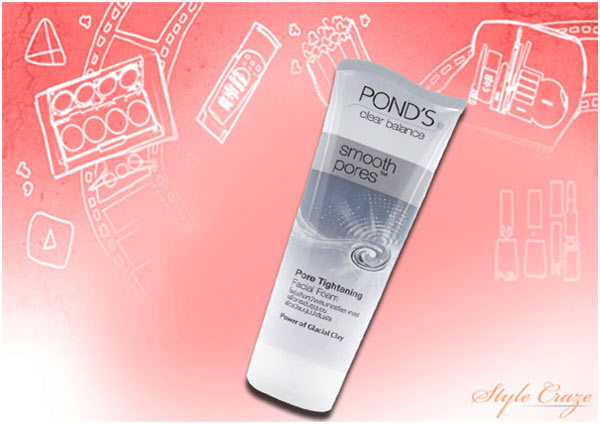 Ponds Clear Balance Smooth Pores Tightening Facial Foam