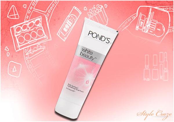Ponds White Beauty Daily Spot less Facial Foam