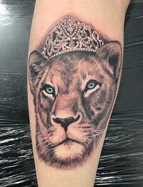 Princess Lioness Tattoo
