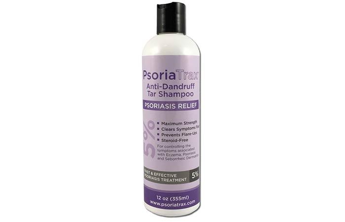 PsoriaTrax Psoriasis Relief Anti-Dandruff Tar Shampoo