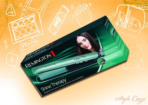 Remington Hair Straighteners - Remington S8500 E51 Shine Therapy Hair Straightener