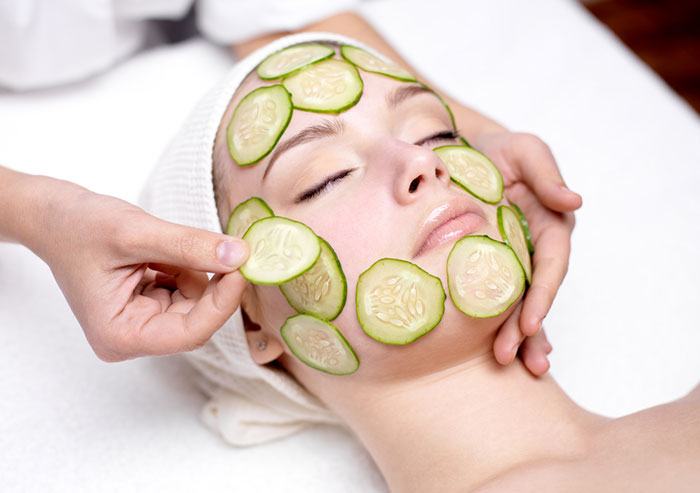 Image result for face  care through cucumber