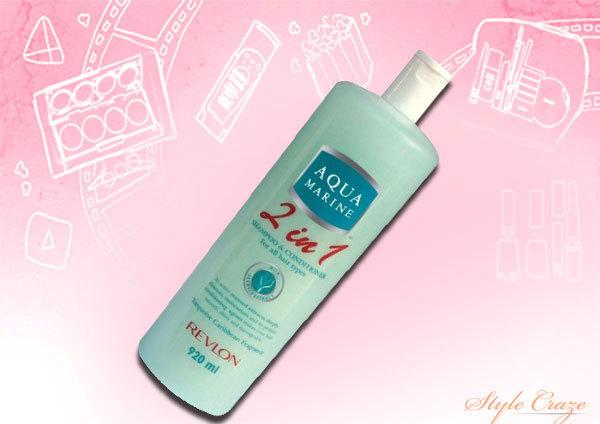 Revlon Aquamarine 2 in 1 Shampoo and Conditioner