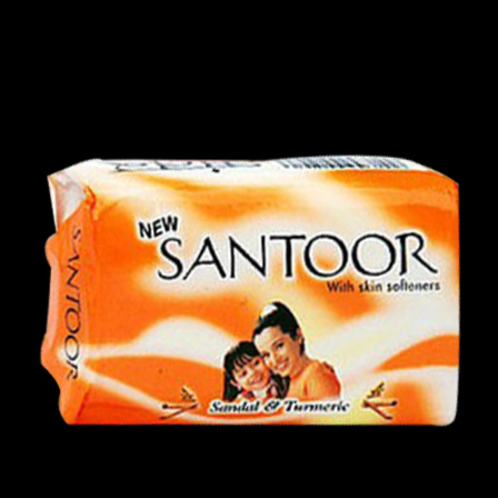 Santoor White Sandal & Almond Milk Soap