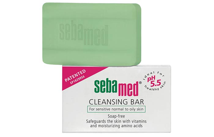 SebaMed Cleansing Bar - Best Soaps For Oily Skin