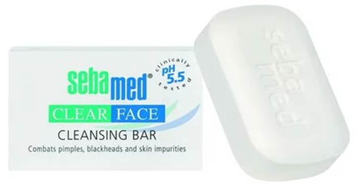 SebaMed Clear Face Cleansing Bar - Best Soaps For Oily Skin