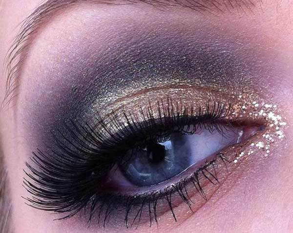 Shaded Bold Eye Makeup