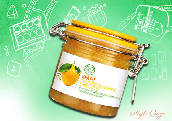 Spa Fit Smoothing & Refining Scrub By The Body Shop
