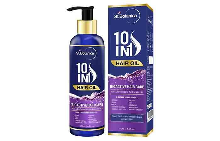 St. Botanica 10 In 1 Hair Oil