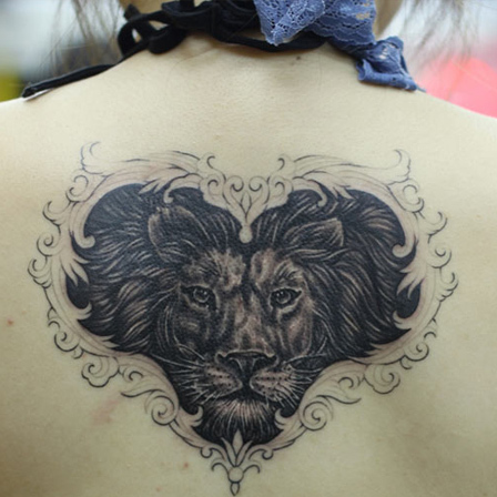 The Heart Faced Lion