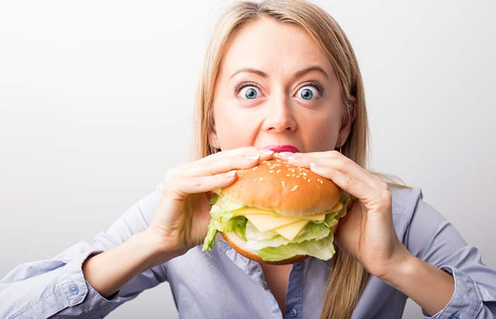 Reasons For Weight Gain - Unhealthy Food Choices