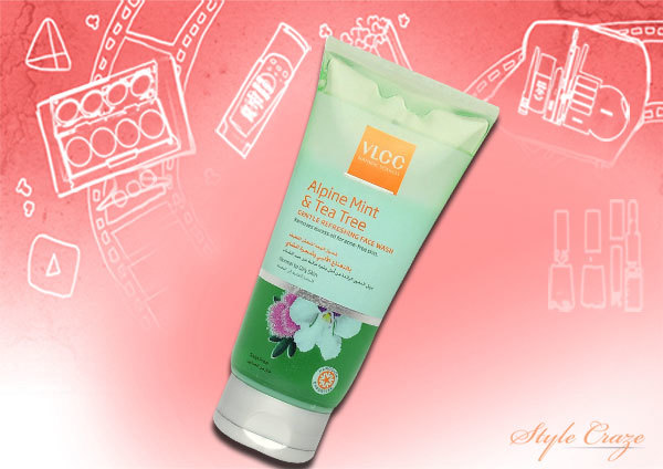 VLCC Alpine Mint and Tea Tree Oil Face Wash