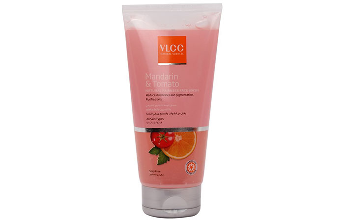 VLCC Mandarin And Tomato Face Wash