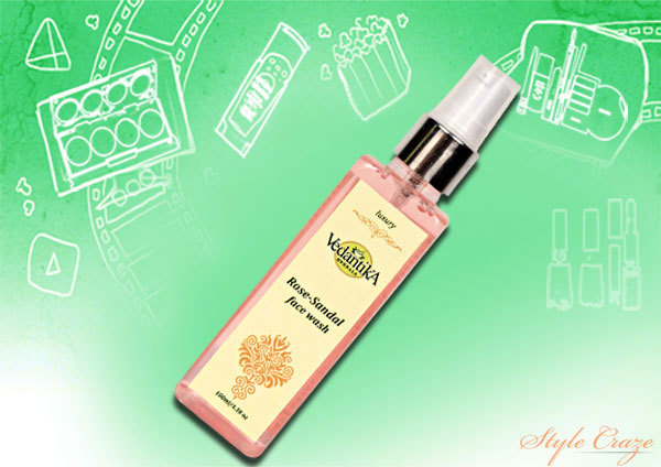 Vedantika Herbals Rose Sandal Face Wash