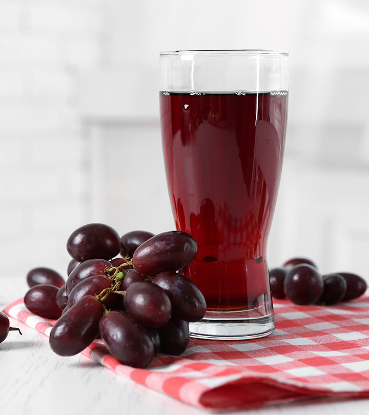 10 Research Backed Health Benefits Of Grape Juice + Nutritional Value