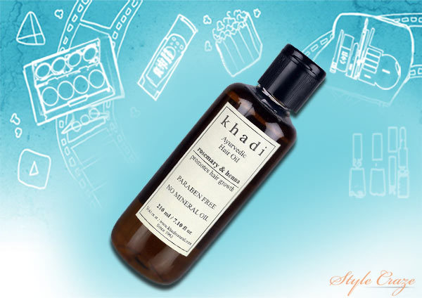 ayurvedic medicine khadi amla hair oil