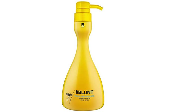 bBlunt Full On Volume Shampoo