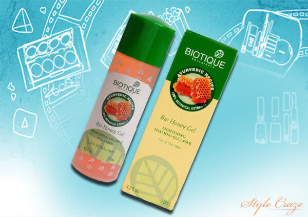 biotique bio honey gel lightening