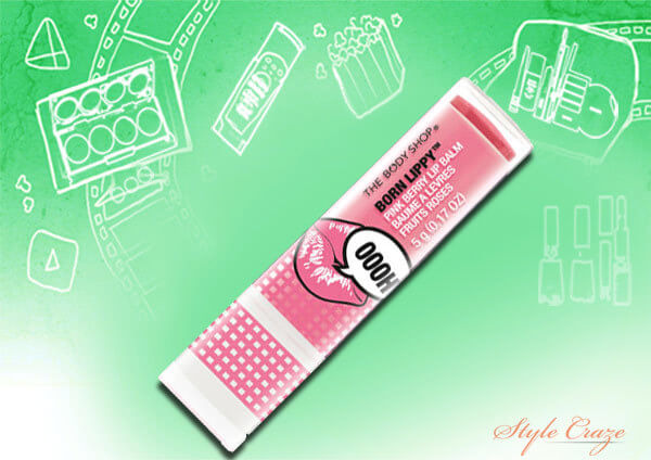 body shop lip balm stick