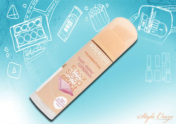 bourjois 10 hour sleep effect foundation