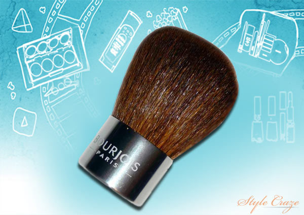 bourjois pinceau kabuki brush review