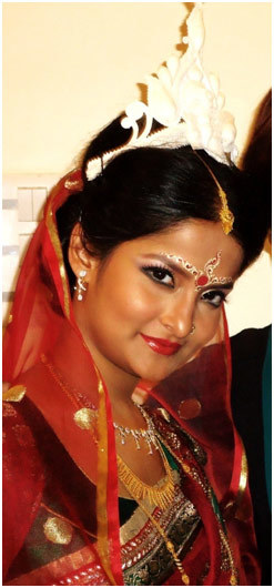 How To Do Hindu Bridal Makeup Step By Step Tutorial With Pictures