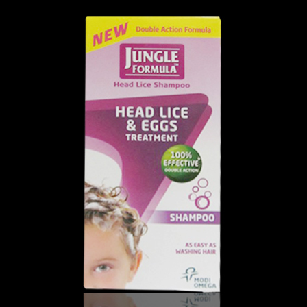 jungle head lice shampoo