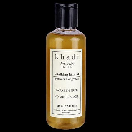 khadi ayurvedic vitalizing hair oil