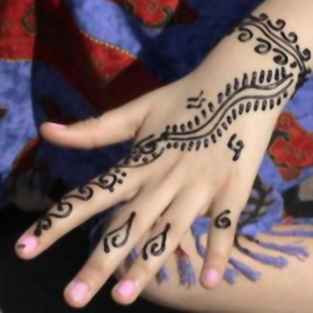 kids mehndi designs hand