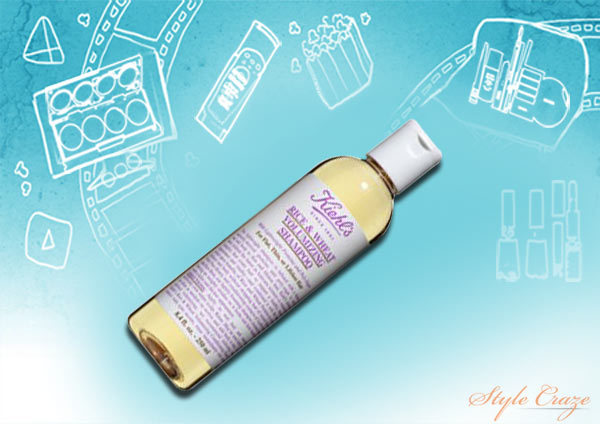 kiehl rice and wheat volumizing shampoo